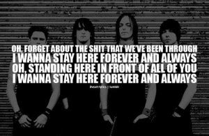 forever and always bullet for my mp3 bfmv quotes quotesgram
