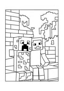 minecraft coloring images minecraft skin coloring pages