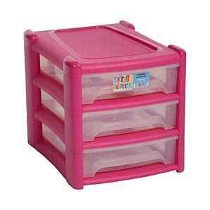 asda pink storage drawers fuchsia 3 drawer unit half price 163 6 asda hotukdeals