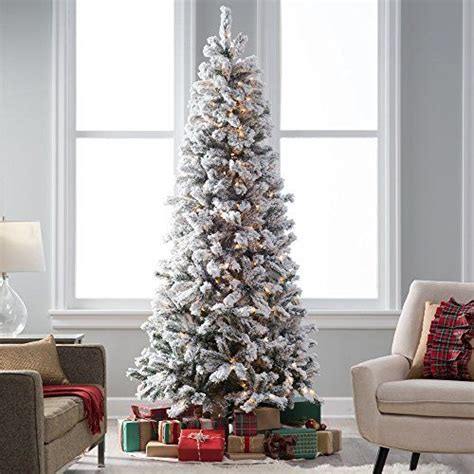 pre lit tree with decorations best 20 flocked trees ideas on teal