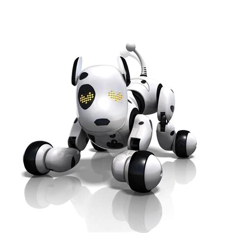 robot puppy zoomer zoomer the interactive robotic pet ebay