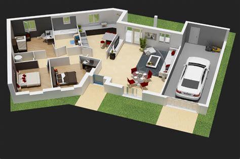 Sweet Home 3d Comment Un ôæá ôω Tage Plan De 100m2 3 Chambres Plan Rdc