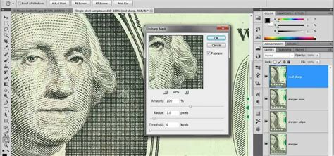photoshop cs5 masking tutorial video how to use the unsharp mask filter in adobe photoshop cs5