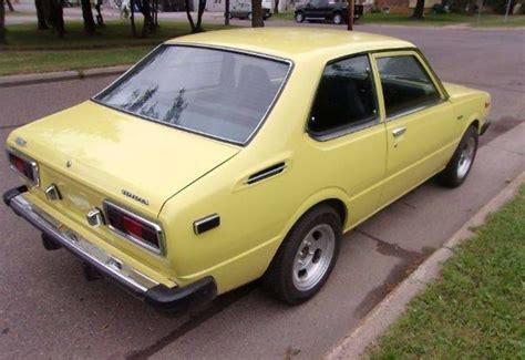 yellow toyota corolla yellow fever 1975 toyota corolla