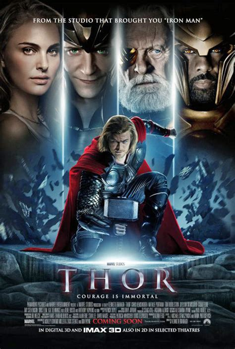 film streaming thor 1 two new thor posters hit the web fandango