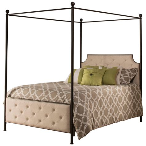 iron canopy bed iron canopy bed in antique bronze by hillsdale