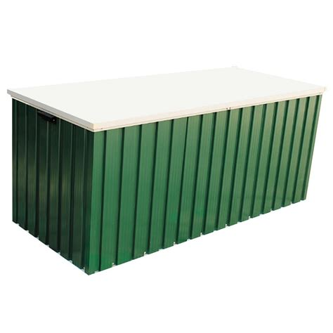 steel garden storage containers emerald 4x2 green metal storage box greenhouse stores