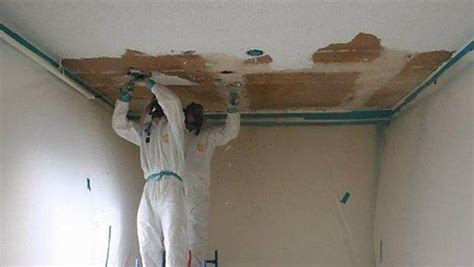 Removing Ceiling Tiles by Removing That Asbestos Is About To Get A Lot More