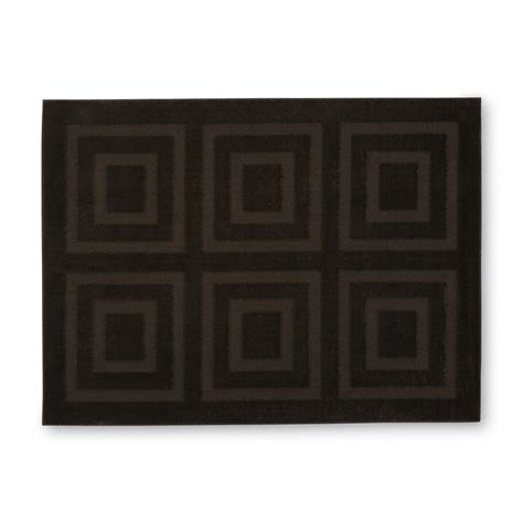 skid resistant rugs essential home carved skid resistant area rug geometric pattern home home decor rugs