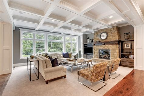 10 ft ceiling expansive edina craftsman by donnay homes