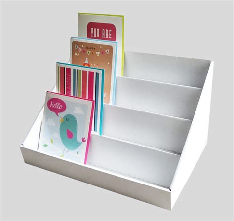 how to display cards greeting card display stand pack of two
