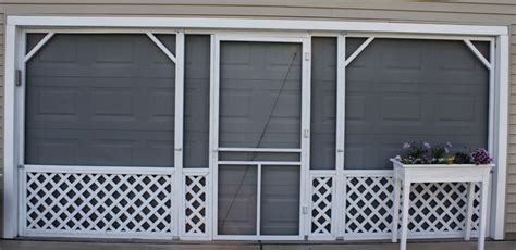 Diy Garage Screen Door by Homes Florence In Buffalo