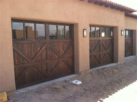 Solid Wood Garage Doors Solid Wood Garage Doors Rustic Garage By Custom Garage Doors