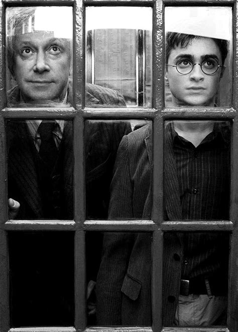 Harry Potter and Arthur Weasley in the Order of the
