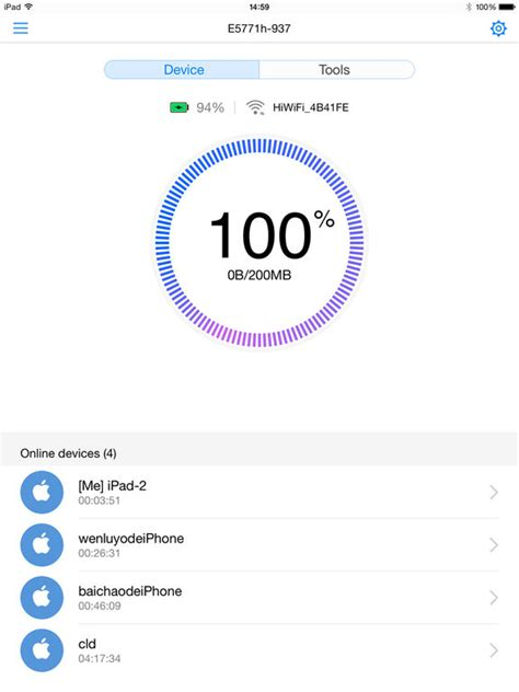 mobile wifi apps huawei hilink mobile wifi on the app store