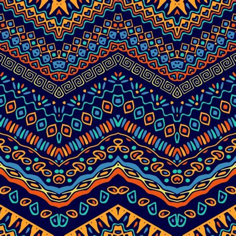 african pattern ai colorful pattern with ethnic elements vector free download