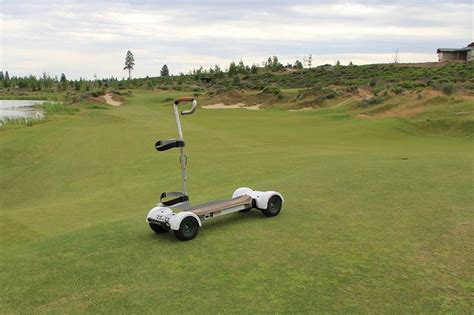Remote Golf by Battery Powered Pull Carts For Golf The Best Cart