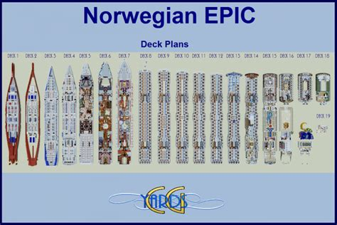 ncl epic deck plans epic 1 1 scale replica interior