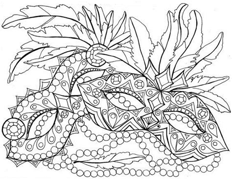 mardi gras coloring sheets coloring gra mardi page mask template printable sketch