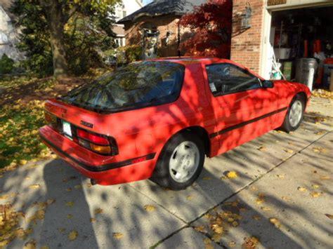 repair anti lock braking 1986 mazda rx 7 lane departure warning 1986 mazda rx 7 gxl auto 2 2 w rear seat