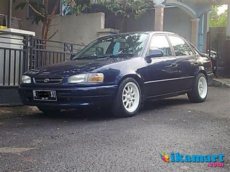 Toyota All New Corolla Seg 1997 jual allnew corolla 1 6 seg 1997 biru met mobil