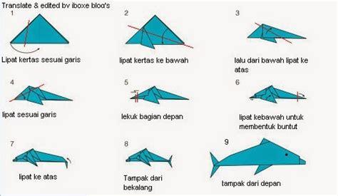 cara membuat origami ikan mudah tutorial origami ikan