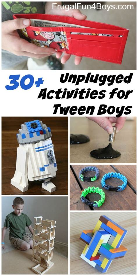 crafts for ages 10 12 20 unplugged activities for tween age boys werkjes