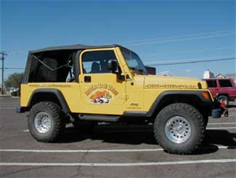 Different Styles Of Jeeps Rv Stripes Graphics Project Of The Month For October 2004
