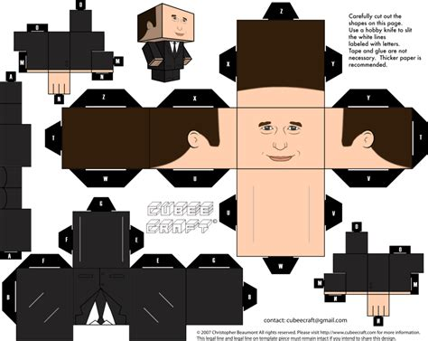 Papercraft Files - phil coulson cubeecraft by jagamen on deviantart