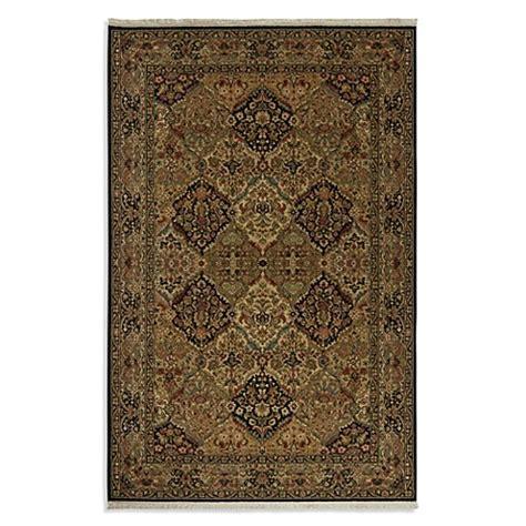 karastan kirman rug karastan original empress kirman rug in black www bedbathandbeyond