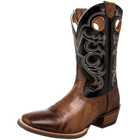mens western boots ariat mens crossfire western boot in brown for