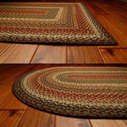 Primitive Kitchen Rugs Bosky Cotton Braided Rugs