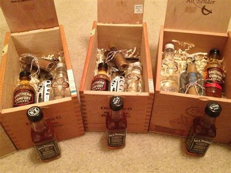 Handmade Groomsmen Gifts - this is the end bow ties liquor and swiss army knife