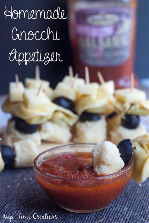 kid friendly no cook appetizers check out gnocchi appetizer it s so easy to make