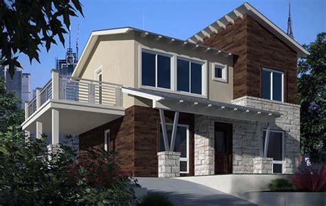 Excepcional  Planos De Casas De Dos Plantas Y Tres Dormitorios #7: Planos-de-casa-moderna-de-dos-niveles-dos-ba%C3%B1os-tres-dormitorios-con-un-garaje.jpg