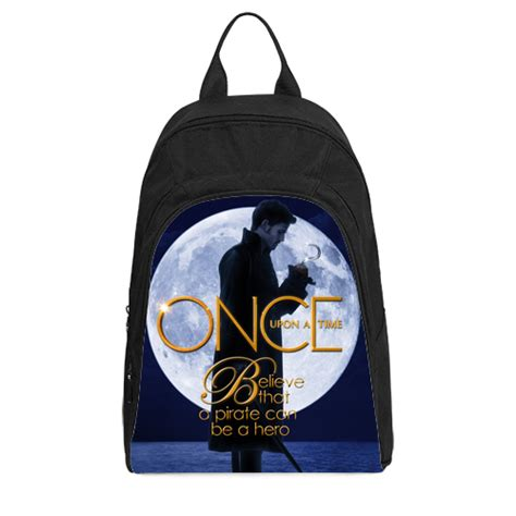 once upon a time captain hook casual backpack mycasescovers