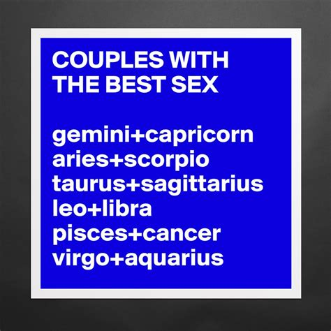 couples with the best gemini capricorn aries s