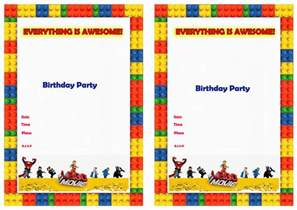 the lego birthday invitations birthday printable