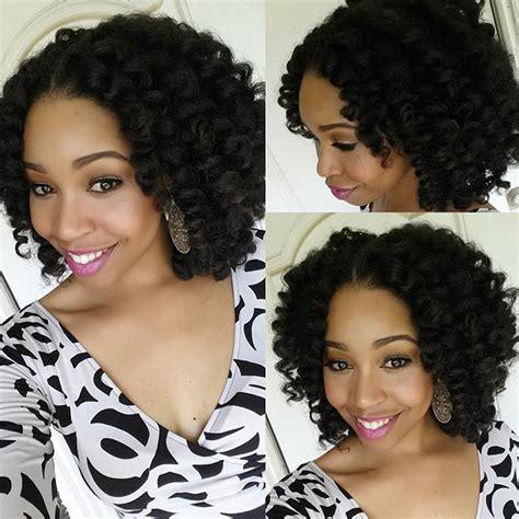 marley hairstyles kinky twist with marley hair crochet braids short