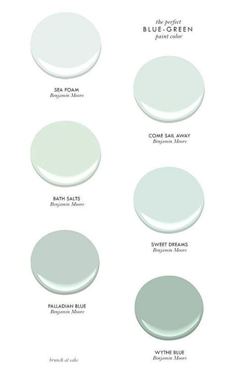 1000 images about benjamin coastal hues on bath salts paint colors and white