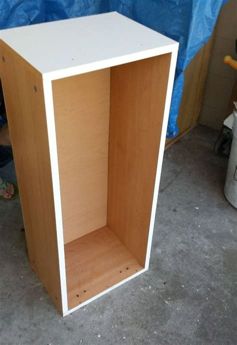 Used Kitchen Cabinets Tampa by Repurposed Laminate Cabinet Turned Big Puppy Center