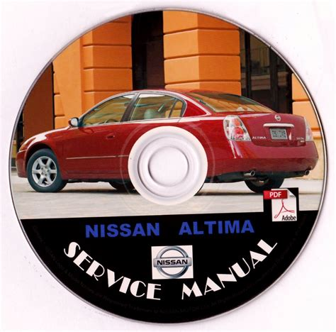 best car repair manuals 1997 nissan altima electronic toll collection nissan 2005 altima service repair shop manual on cd 05 factory oem