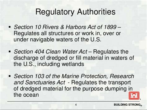section 404 of the clean water act section 404 clean water act overview riparian workshop