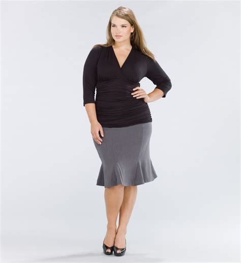 plus size skirt collection