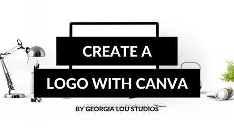 canva youtube logo how to create a logo with canva youtube