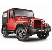 Mahindra Thar CRDe 4x4 BS IV Price Specifications Review