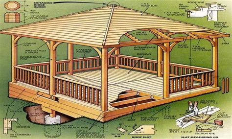 free gazebo plans gazebo designs plans free octagon gazebo plans free