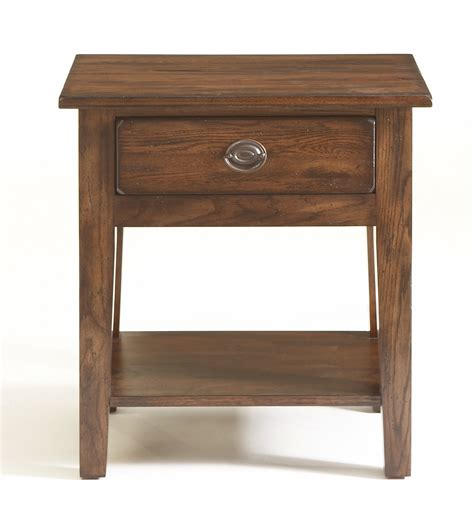 attic heirlooms heritage by broyhill furniture broyhill attic heirlooms rustic oak nightstand 4399 92