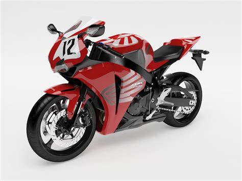 cbr bike model bike cbr 1000 rr 3d model