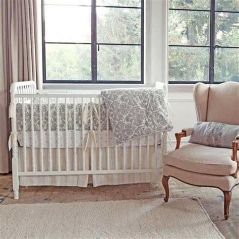 modern nursery bedding tatum 3 crib set brocade slate modern baby bedding by layla grayce